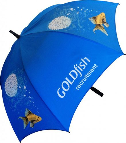 Paraguas personalizado golf automatico fibra de vidrio