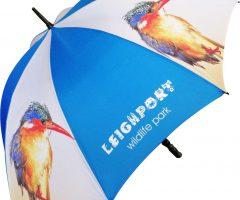 Paraguas promocional 1FST fibra de vidrio