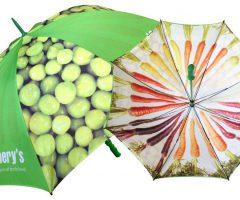 Paraguas promocional impreso ambas caras