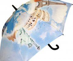 Paraguas publicidad impresión total color