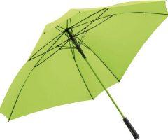 Paraguas publicitario FARE cuadrado logo color