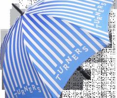 Paraguas personalizado todo color madera