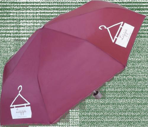 Paraguas personalizado plegable con funda
