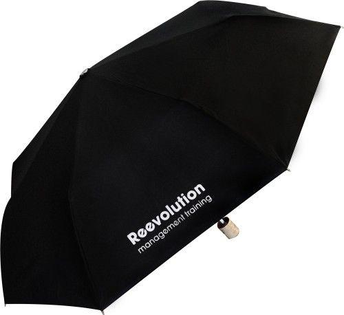 Paraguas personalizado logo color plegable madera