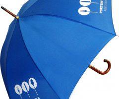 Paraguas publicitario madera económico