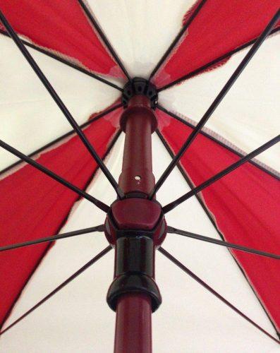 Paraguas personalizado octogonal eje y varillas