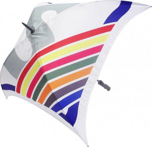 Paraguas personalizado cuadrado impresión total