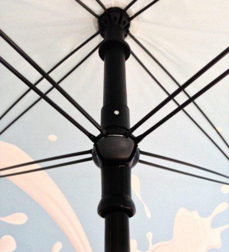 Paraguas personalizado cuadrado interior