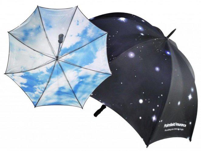 Paraguas personalizado con fotos ambas caras