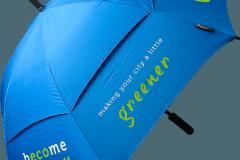 Paraguas personalizado ecologico antiviento