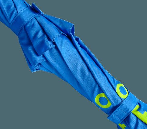 Paraguas personalizado ecologico antiviento cintas cierre