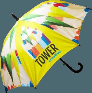 Paraguas regalo publicitario diametro medio abierto