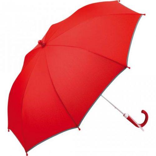 Paraguas personalizado infantil seguridad FARE rojo