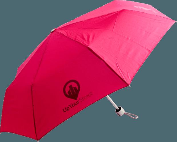 Paraguas personalizado plegable aluminio
