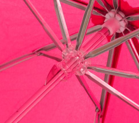 Paraguas personalizado plegable aluminio estructura