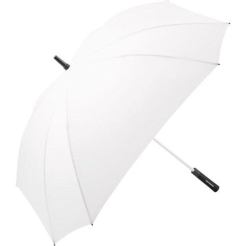 Paraguas personalizado tamaño Golf XL cuadrado antiviento blanco