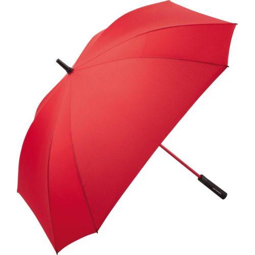 Paraguas personalizado tamaño Golf XL cuadrado antiviento rojo