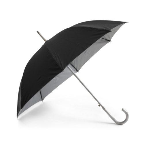 Paraguas de aluminio tela negra