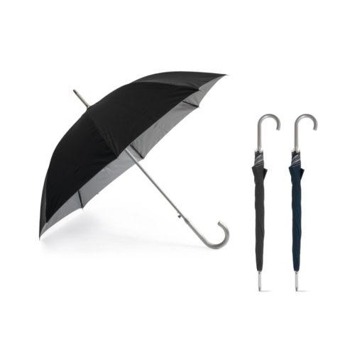 Paraguas de aluminio detalle cerrado