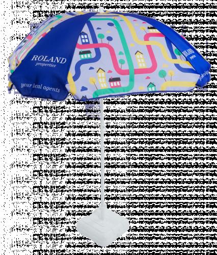 Sombrilla personalizada todo color cuadrada