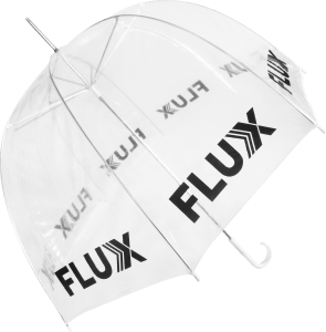 Paraguas personalizado transparente PVC cupula
