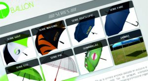 Tienda online de paraguas personalizados Ballón