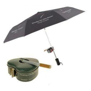 Paraguas cenicero