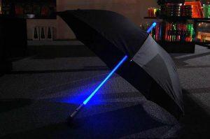 Paraguas laser