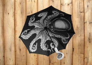 Paraguas pulpo