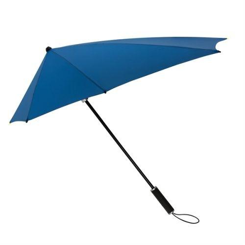 Paraguas personalizado aerodinamico azul