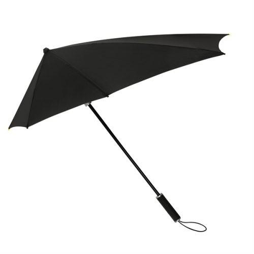 Paraguas personalizado aerodinamico negro