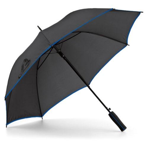 Paraguas automático bicolor azul