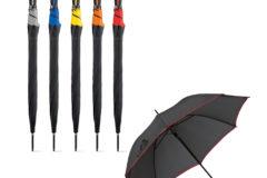 Paraguas automático bicolor