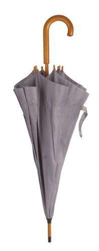 Paraguas personalizado barato madera gris