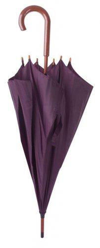 Paraguas personalizado barato madera lila