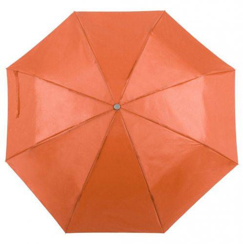 Paraguas personalizado barato plegable naranja