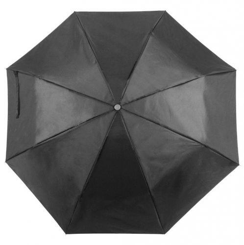 Paraguas personalizado barato plegable negro