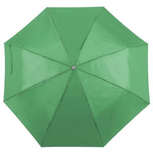 Paraguas personalizado barato plegable verde
