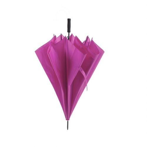 Paraguas personalizado barato Golf antiviento fucsia