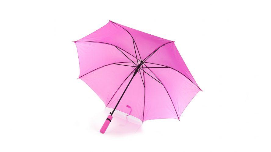 Paraguas personalizado barato mango color abierto