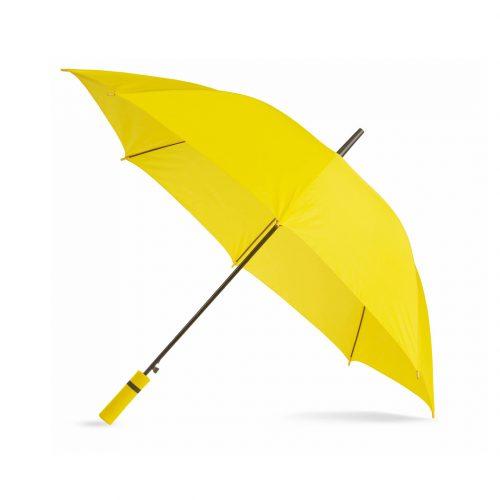 Paraguas personalizado barato mango color amarillo
