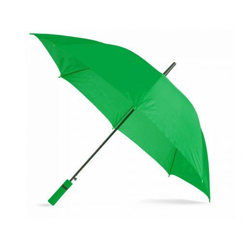 Paraguas personalizado barato mango color verde
