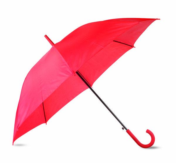 paraguas-automatico-mango-pvc-rojo