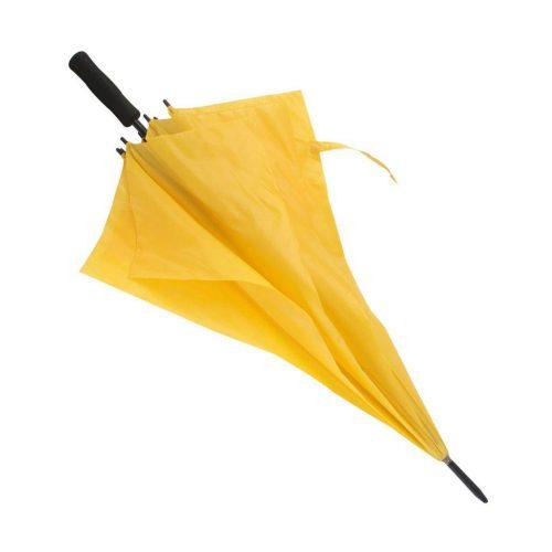 Paraguas personalizado barato Golf antiviento amarillo