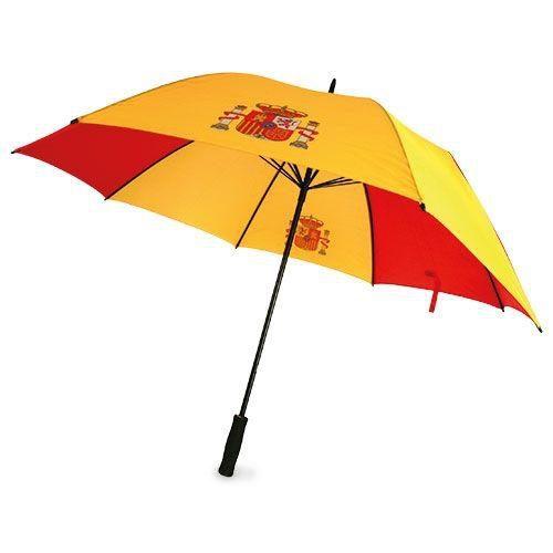 Paraguas personalizado barato Golf antiviento bandera España abierto