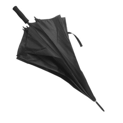 Paraguas personalizado barato Golf antiviento negro