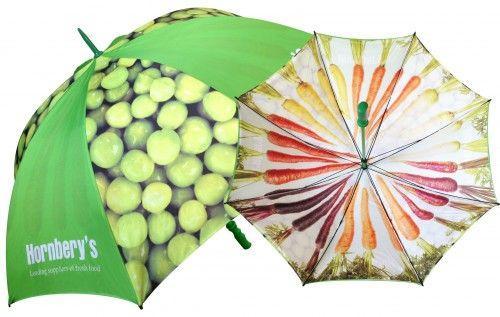 Paraguas con fotos a doble capa
