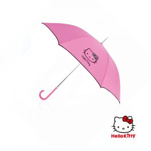 Paraguas personalizado Hello Kitty