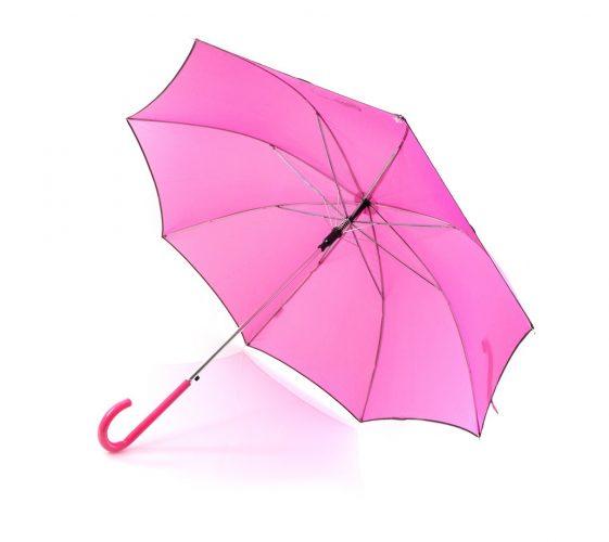 Paraguas personalizado Hello Kitty abierto