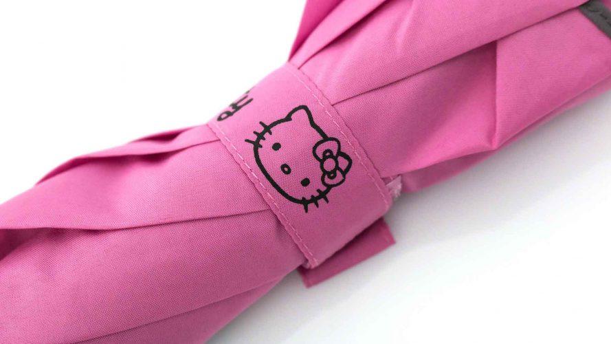 Paraguas personalizado Hello Kitty cinta cierre